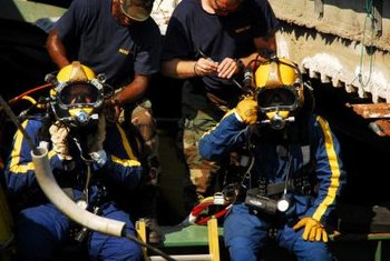 Navy diving physicians must be prepared to deal with the special injuries and illnesses divers may experience.