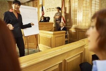 Testifying in court is one of the many jobs of a vice detective.