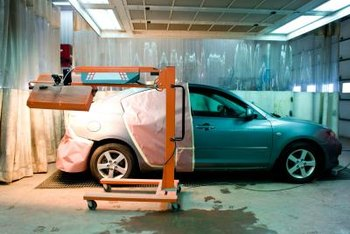 You need enough space to dry one car while getting ready to paint another.