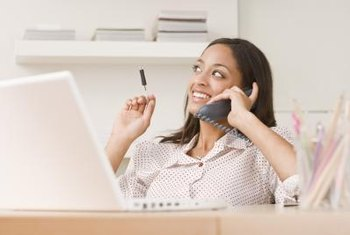 "Strike a balance between friendliness and a business focus when making ""warm"" sales calls."