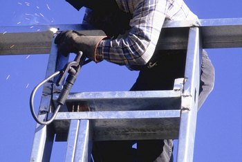 Top-paid welders can earn over $55,000 annually.