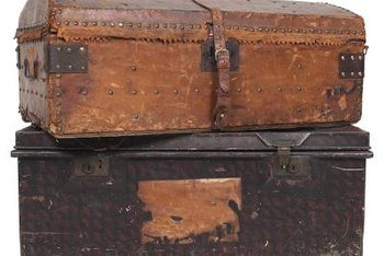Steamer trunks have a lot of character.