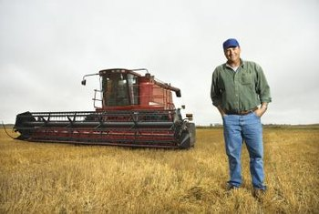 Farmers join cooperatives to access equipment, seed and marketing.