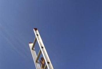 An extension ladder is needed for any roof repair project.