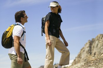 Walking uphill -- or across uneven terrain -- can turn your stroll into more of a workout.