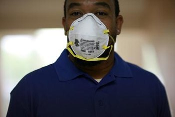 Respirator training is standard for school custodians who are Class IV asbestos workers.
