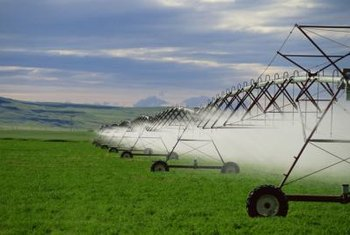 Irrigation equipment is just one example of the many agribusiness opportunities available.