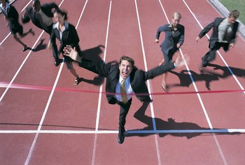 In a competitive business market, all participants are essentially on an equal footing.
