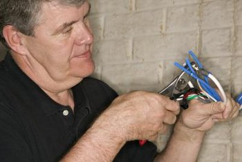 Electricians carry out very dangerous work activities that require specialized training.