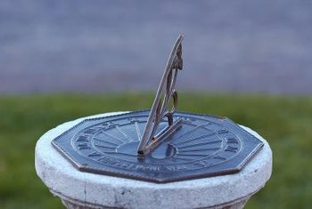 Add a touch of timeless beauty to your garden with a sundial.