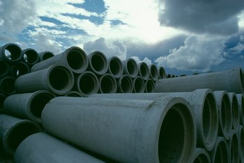 Landowners who grant the initial easement for sewer pipes receive compensation.