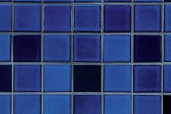 Glass tiles come in a variety of colors to complement any kitchen decor.