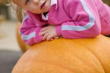 Giant pumpkins are fun for the whole family.