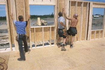 Installing spray foam in a finished wall is more difficult than installing it in new construction.