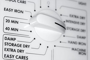Change cycle settings to improve the performance of your electric dryer.