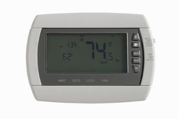 A thermostat helps maintain a consistent temperature in your home.