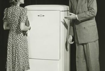 The refrigerator was invented about 150 years ago.