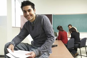 Students can test out of college Spanish with the CLEP Spanish test.