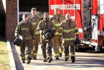 Firefighters undergo extensive training in fire science and fire safety.
