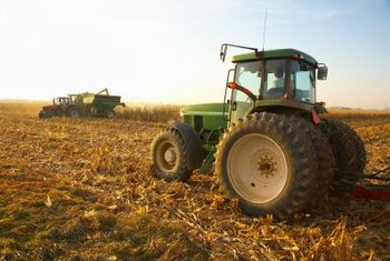 Tractors can now be controlled automatically or remotely using GPS.