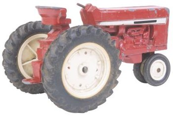 Purchase a tractor suitable for your bush hog.