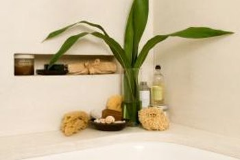A refinished bathtub adds beauty to your bathroom.