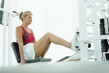 A leg press doesn't require a spotter.