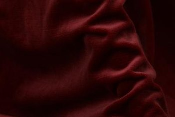 Burgundy is a statement color.