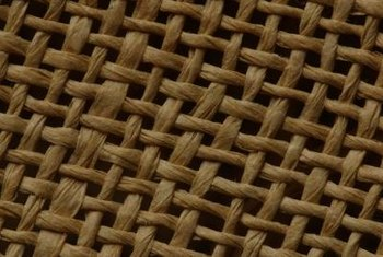 Jute fibers are woven together to make rope, bags, rugs and other goods.