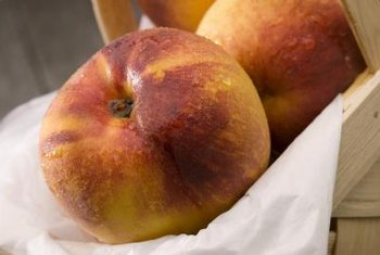 Nectarines are markedly smaller than peaches.