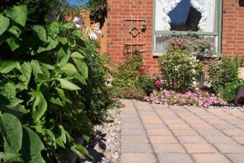 Pavestones lend a neat appearance to your patio.
