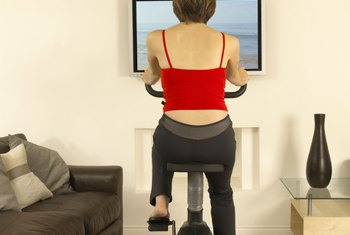 Making time for regular stationary bike workouts has several health benefits.