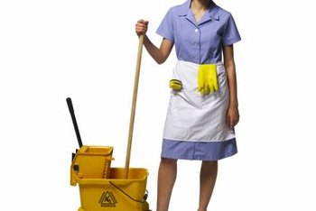 Protect your cleaning service by carrying insurance and a bond.