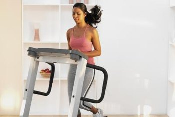 Manipulate the speed and incline buttons available on treadmills to improve your speed.