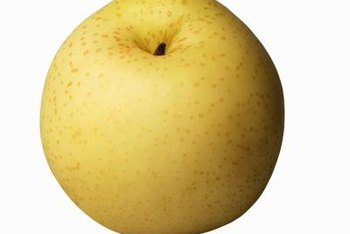 Asian pears are easily mistaken for apples.