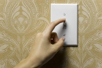 Saving electricity can be as simple as turning off a light switch.