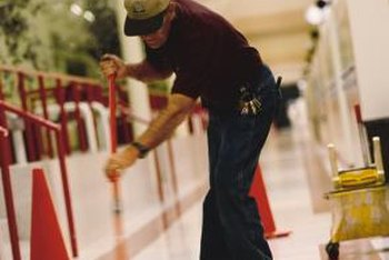 Building attendants help maintain and improve facilities.