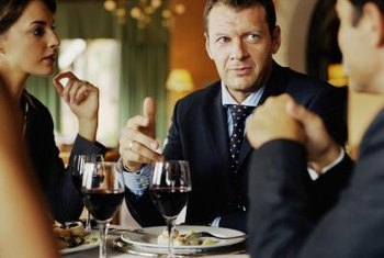 Dinner talks can help you build relationships with potential clients and investors.