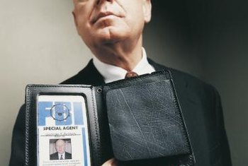 FBI badges show that agents have met rigorous qualifications.