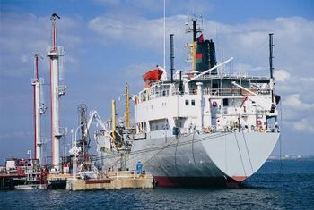 Marine surveyors inspect all kinds and sizes of ships for problems and damage.