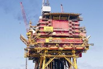 Civil engineers design structures for the oil business.