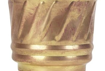 Brass is a metal alloy that lends itself to intricate designs when molded.
