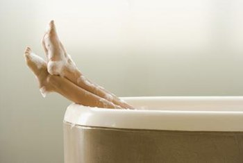 Cracks in fiberglass and acrylic bathtubs are fairly common.