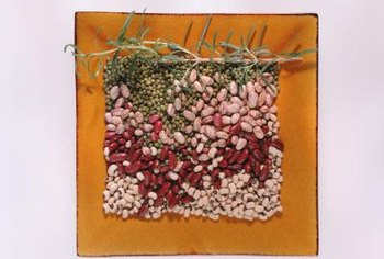 Lentils contain the amino acid lysine.