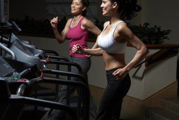 Treadmill running is a healthy alternative to running on concrete.