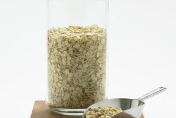 Hemp protein adds a nutty flavor to plain oats.