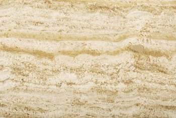 Travertine ranges in color from pale ivory to deep brown.