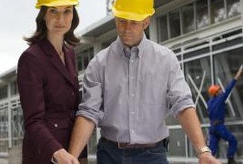 Building engineers work with equipment such as air conditioners, heaters and fire alarms.