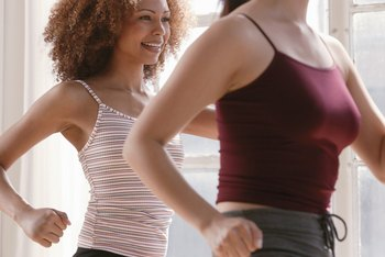 Zumba's up-tempo nature leads to a rapid caloric burn.