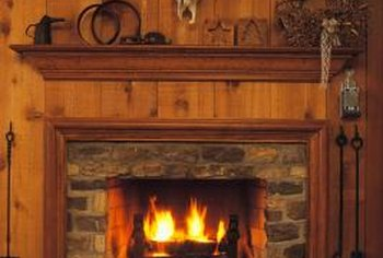 Fireplace hearths can provide both safety and aesthetic appeal.